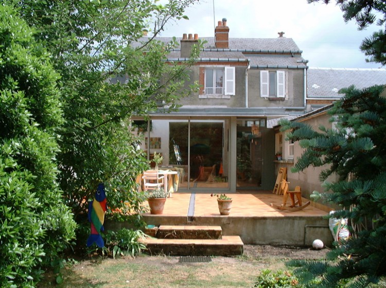 Comment cr er une extension de maison en bois orl ans for Extension maison orleans